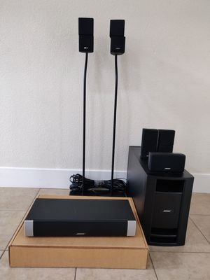 Like New Bose V20 LifeStyle Home Theater for Sale in Sunnyvale, CA