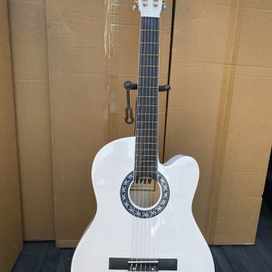 white fever classic acoustic guitar for Sale in Downey, CA