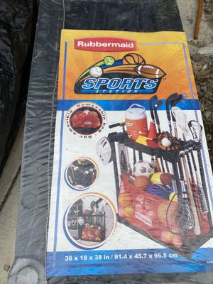Rubbermaid Sports Station storage for Sale in Seattle, WA
