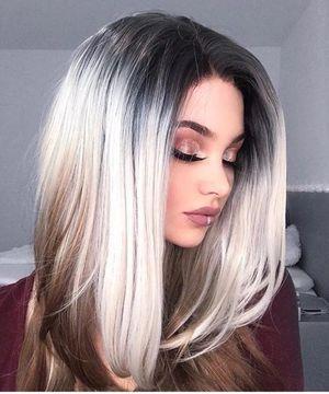 Synthetic Ombre Gray Linen Hair for Sale in Arlington, VA