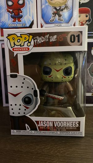Friday the 13th JASON VOORHEES Funko pop for Sale in San Diego, CA