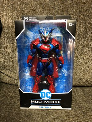McFarlane Superman Unchained Armor for Sale in Lockport, IL