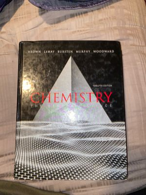 Chemistry central science twelfth edition by Brown etc. for Sale in Tucson, AZ