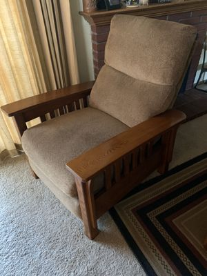 Mission style reclining chair for Sale in Vallejo, CA