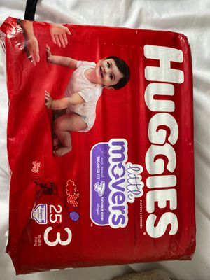Huggies diapers size 3 for Sale in Parma, OH