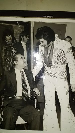 Original 1968 black and white picture of ELVIS. for Sale in Vidor, TX