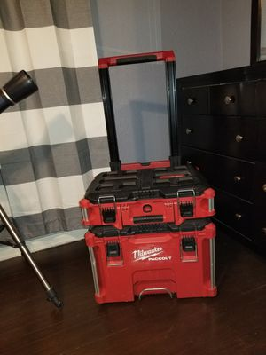 Milwaukee packout rolling toolbox for Sale in Marlin, TX
