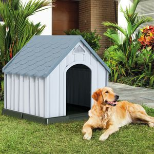 Plastic Medium-Sized Pet Puppy Shelter Waterproof Ventilate Dog House! New! $80! for Sale in Riverside, CA