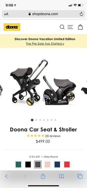 Doona MAX car seat & stroller combo for Sale in P C BEACH, FL