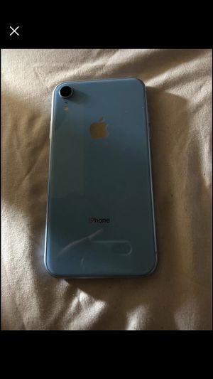 AT&T Apple IPhone XR Blue 64gb for Sale in New Bloomfield, MO