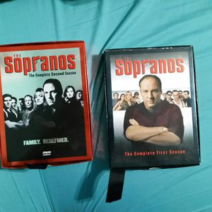 Sopranos the complete first season and the complete second season for Sale in Dallas, TX