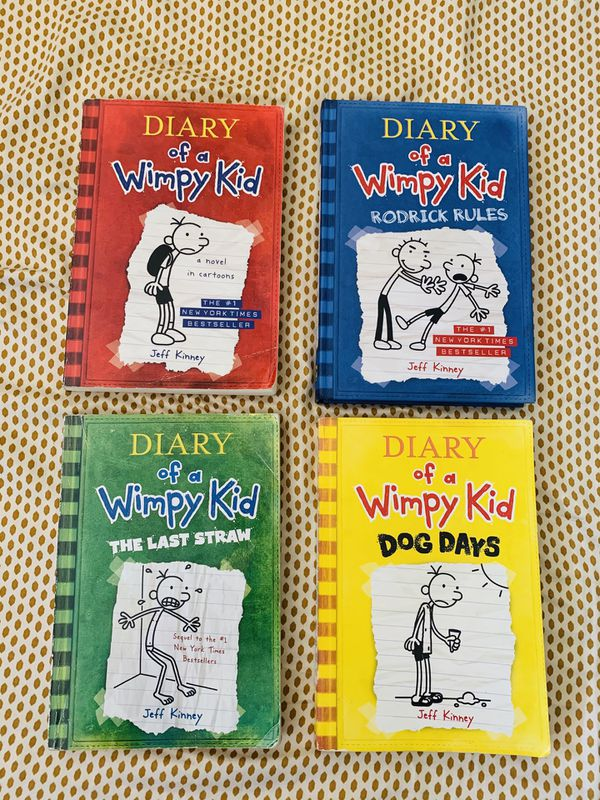 The Diary of a Wimpy kid (13 books)