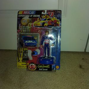 Racing Champions Superstars Dale Jarrett Action Figure NASCAR Set for Sale in Gaithersburg, MD