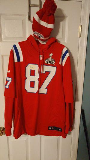 NFL XL New England Patriots Gronkowski Jersey for Sale in Midlothian, VA