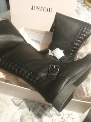 Just fab black boots for Sale in Escondido, CA