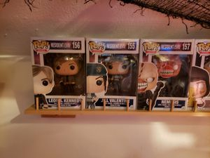 Funko funko pop resident evil toys action figures for Sale in Albany, NY