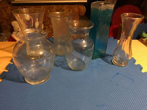 6 Glass Vases for Sale in Apex, NC