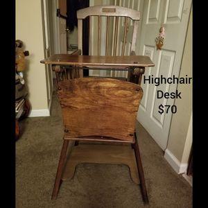 Antique Highchair/Desk for Sale in Paragould, AR