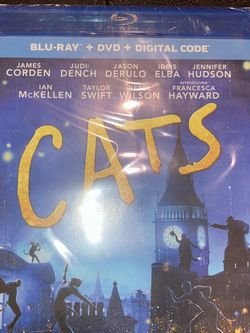 Brand New Factory Sealed Cats BLURAY + DVD + DIGITAL CODE for Sale in Ontario,  CA