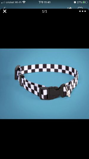 Dog collar vans classic chess log for Sale in West Covina, CA