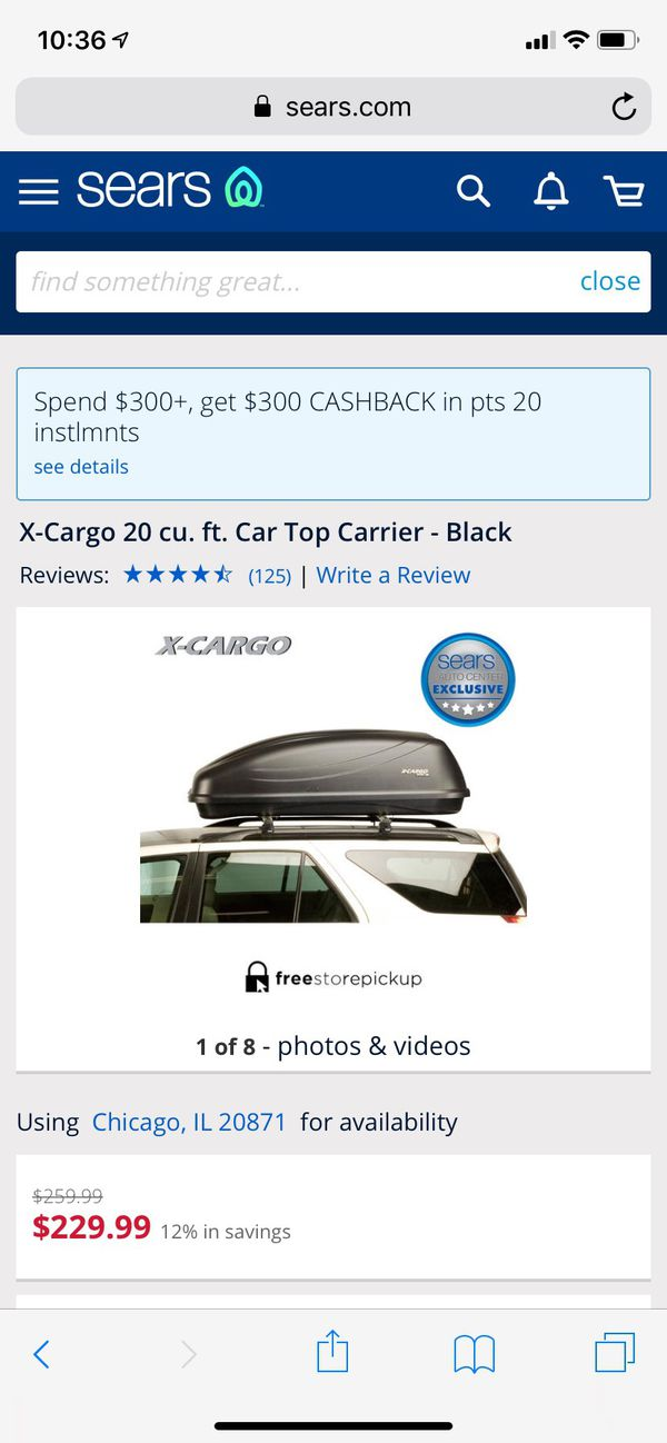 Cargo Roof Carrier