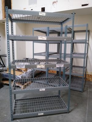 Metal industry shelves for Sale in Tacoma, WA