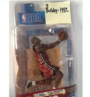 b9b26b3821a LeBron James Action Figure. Brand new. Never opened. for Sale in ...