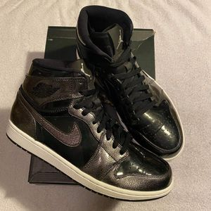 Air Jordan 1 Retro Black Patent Size 10.5 for Sale in Greenville, NC