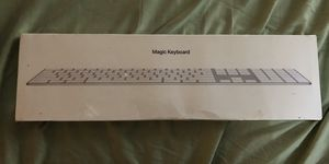 New Bluetooth Mac Apple keyboard w/numerical pad for Sale in Portland, OR