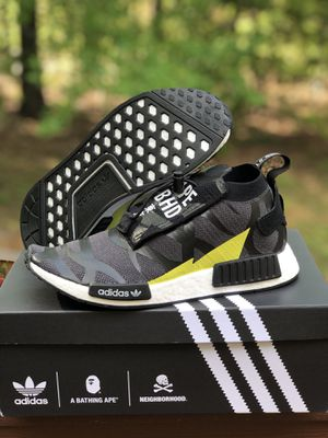 adidas NMD TS1 Bape x Neighborhood size 9 for Sale in Alexandria, VA