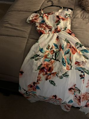 Off The Shoulder Flower Dress for Sale in Ontario, CA