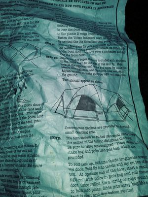 7 person dome tent for Sale in Abilene, TX