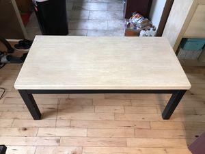 Marble wood coffee table for Sale in Robertsdale, AL
