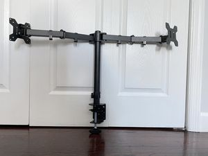 Dual monitor desk mount stand for Sale in South Farmingdale, NY