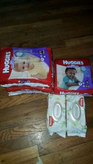 Huggies pampers different sizes available for Sale in Trenton, NJ