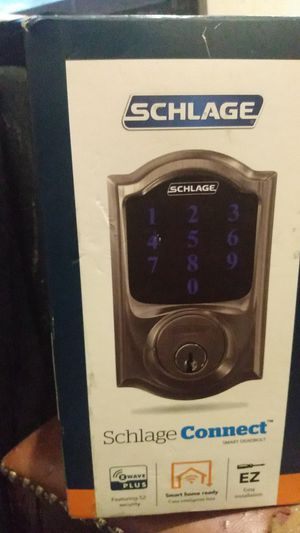 Schlage Connect touchscreen smart deadlock for Sale in Seattle, WA