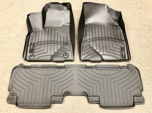 New For 14-19 Toyota Highlander Floor Liner Rubber Mats Pads Kit WeatherTech for Sale in Whittier, CA