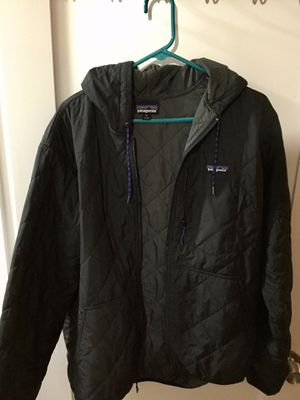 Patagonia Diamond Quilted Bomber hooded jacket for Sale in Woodway, WA