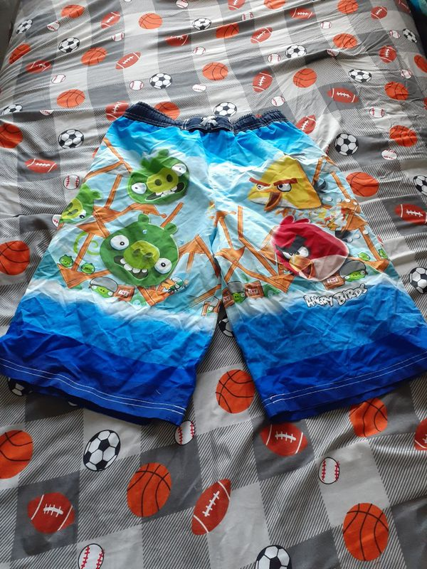Angry Birds water shorts