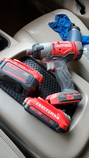Craftsman Impact Drill Driver CMCF800 with 2 Batteries (2.0AH & 4.0AH both V20 Lithium Ion) for Sale in Greensboro, NC