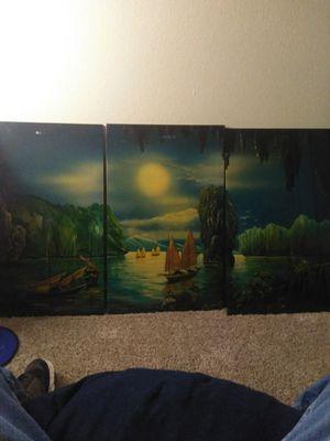 Triptic art for Sale in Houston, TX