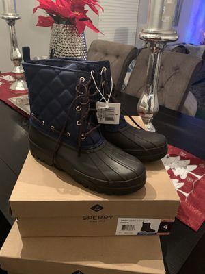 New authentic Sperry Snow/rain boots for Sale in San Bernardino, CA