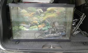 Fish tank with stand for Sale in Kingsley, PA