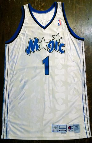 2001-2002 Orlando Magic Jersey game-used by Tracy McGrady for Sale in Pasadena, CA