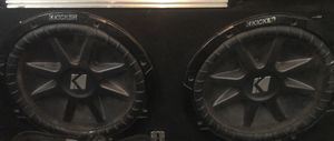 Kicker 10 Subs W Sealed Box for Sale in Fresno, CA