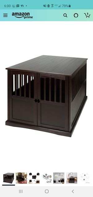 End table XL dog crate in excellent condition for Sale in Gilroy, CA