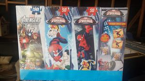 Avengers/spiderman puzzles and match game for Sale in Hesperia, CA