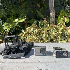 GoPro Hero 6 with Waterproof Case & Body Harness for Sale in San Leandro, CA