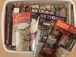 Vintage crochet and knit booklets for Sale in Raymond, WA