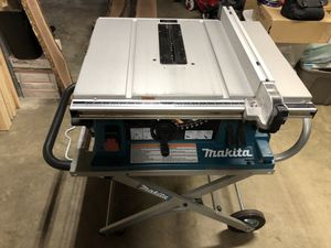 "Makita 10"" table saw with stand for Sale in Staunton, VA"